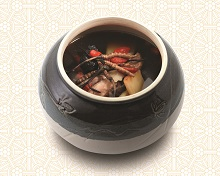 Chicken Soup with Cordyceps, Chinese Yam & Chinese Wolfberry
