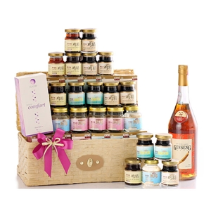 Best Wishes Birthday Hamper 2014
