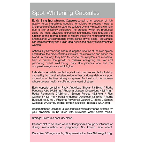 Spot Whitening Benefits SG