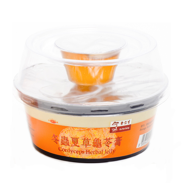 Cordyceps Herbal Jelly (冬蟲夏草龜苓膏)
