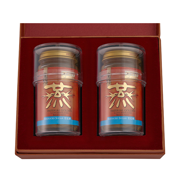 Imperial Golden Concentrated Bird's Nest 150g Gift Set of 2 - 2 x Reduced Sugar