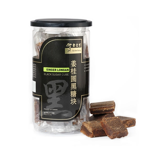Black Sugar Cube with Ginger Longan 姜桂圆黑糖块