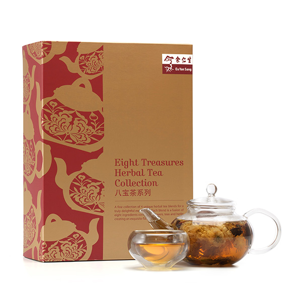 Eight Treasures Herbal Tea Collection 八宝茶系列