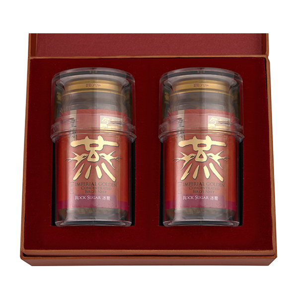 Imperial Golden Concentrated Bird's Nest 150g Gift Set of 2 - 2 x Rock Sugar