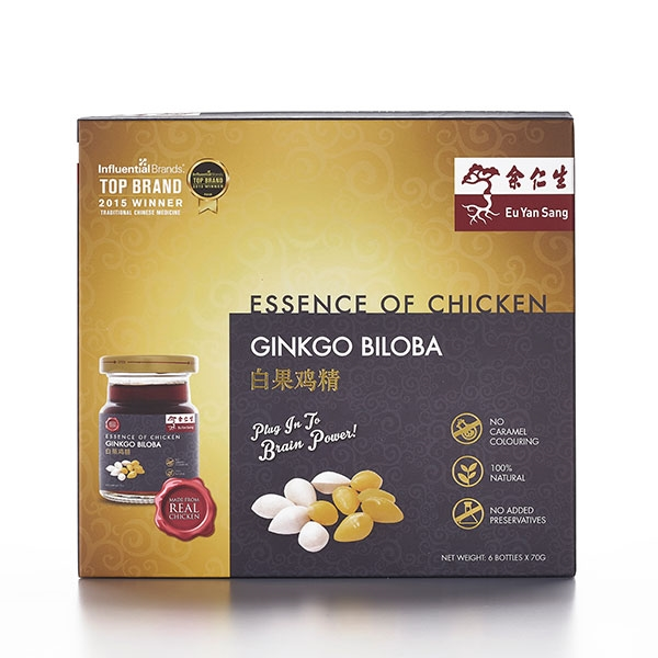 Essence of Chicken with Ginkgo Biloba 6'S