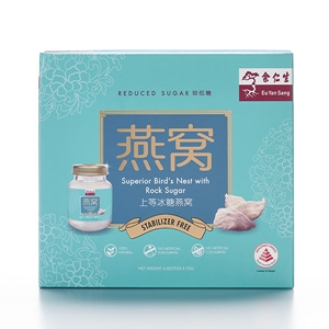 Bottled Bird's Nest with Rock Sugar (Reduced Sugar) Box Large