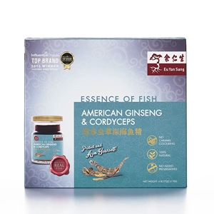 Essence Of Fish With American Ginseng & Cordyceps 6's