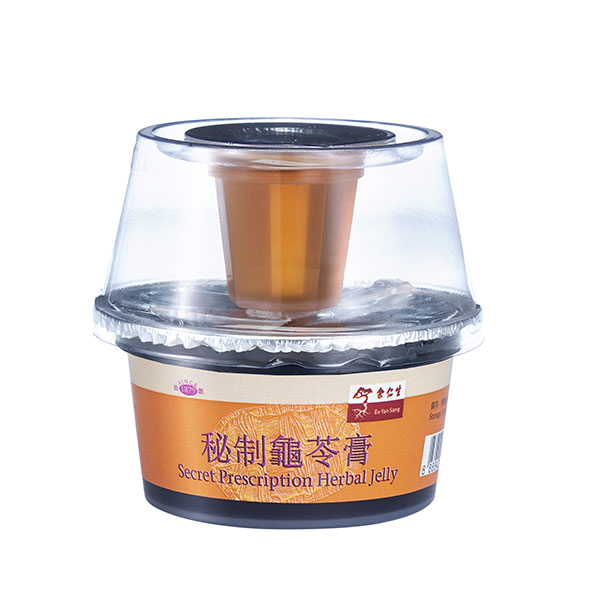 Secret Prescription Herbal Jelly (秘制龜苓膏)