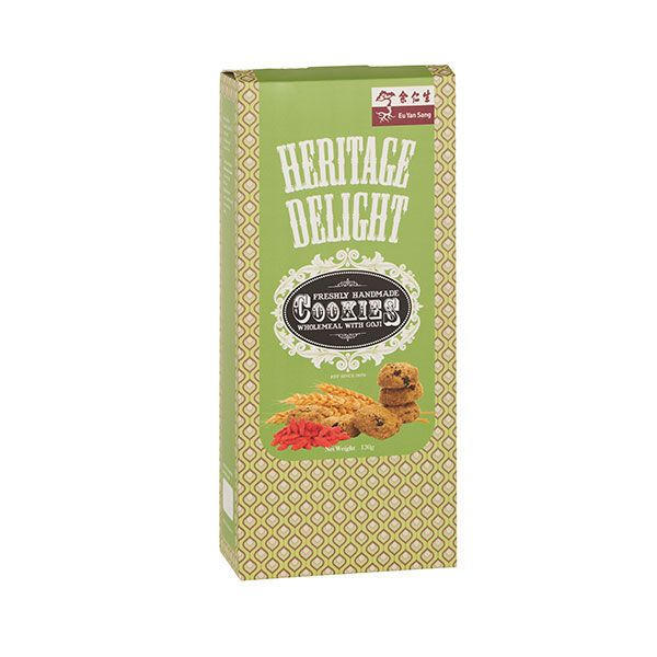 Heritage Delights Cookies Wholemeal with Goji