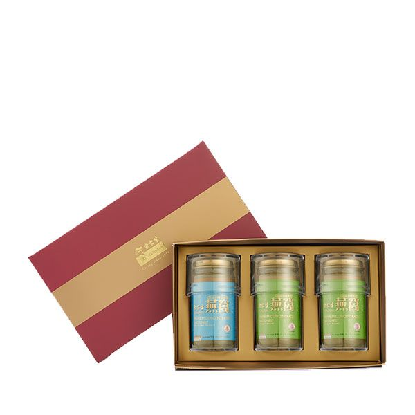 Premium Concentrated Bird's Nest 150g Maroon Gift Set of 3 - 2 x Sugar Free & 1 x Reduced Sugar