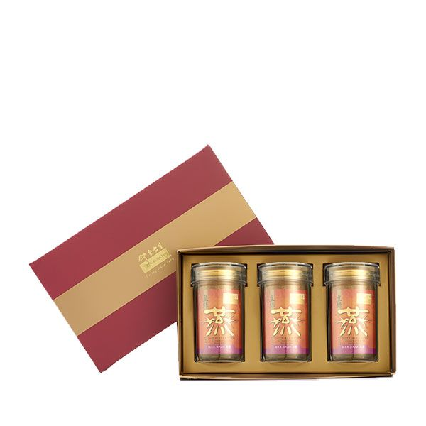Imperial Concentrated Bird's Nest 150g Maroon Gift Set of 3 - 3 x Rock Sugar