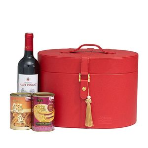 Red Hat 1 - Connoisseur's Australian Abalone & Wine Gift Tote