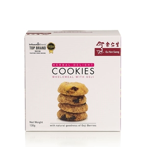 Herbal Delights Cookies Wholemeal with Goji