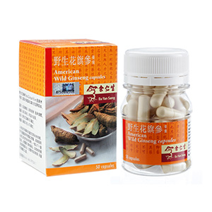 American Wild Ginseng Capsules