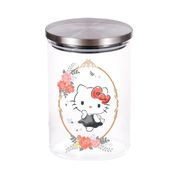 Hello Kitty Glass Storage Jar 0.8L