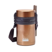 Premium Insulated Food Tumbler (Gold 1.2L)