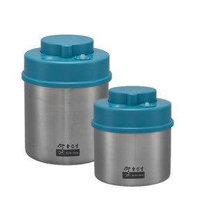 Vacuum Canister Bundle 700ml and 1000ml (Blue)