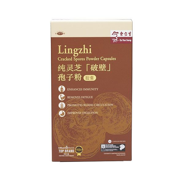Lingzhi Cracked Spores Powder Capsules