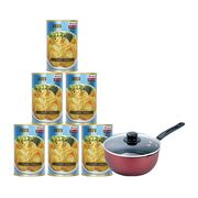 Superior Baby Abalone Australia with Carbon Steel Saucepan Bundle