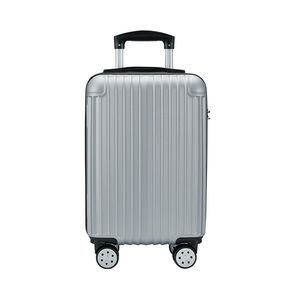 Silver 18 Inch Cabin Size Luggage