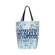 Blue Eco Cotton Bag