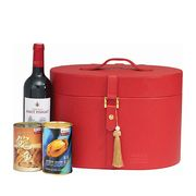 Red Hat 2 - Connoisseur's New Zealand Abalone & Wine CNY Gift Tote