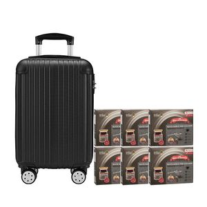 Black Boned Chicken Tonic Black Garlic and Collagen 6'S Black Luggage Gift Set