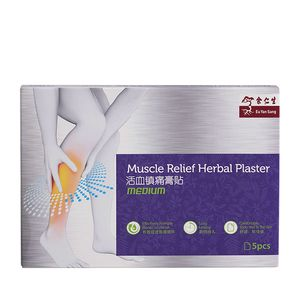 Muscle Relief Herbal Plaster 5's