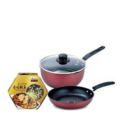 Palace Grande Abalone & Fragrant Chicken Treasure Pot (Peng Cai) with Carbon Steel Bundle