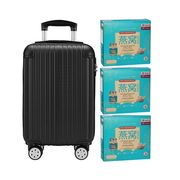 Superior Deluxe Bird's Nest with Rock Sugar (Reduced Sugar) 6'S Black Luggage Bundle