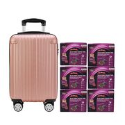 Black Boned Chicken Tonic with DuZhong Baji 6'S Rose Gold Luggage Set