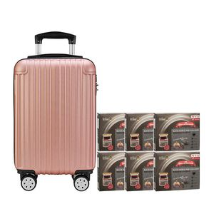 Black Boned Chicken Tonic Black Garlic and Collagen 6'S Rose Gold Luggage Gift Set