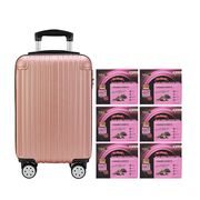 Black Boned Chicken Tonic BaZhen and Collagen 6'S Rose Gold Luggage Set