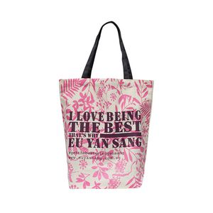 Pink Eco Cotton Bag