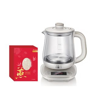 PWP Superior Instant Bird's Nest 6'S with Glass Kettle Bundle