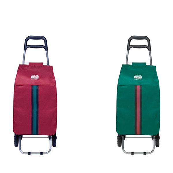 Shopping Trolley Bag Forest Green or Maroon - 1 Piece Only