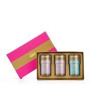 Premium Concentrated Bird's Nest 150g Hot Pink Gift Set of 3 - 2 x Rock Sugar & 1 x Reduced Sugar