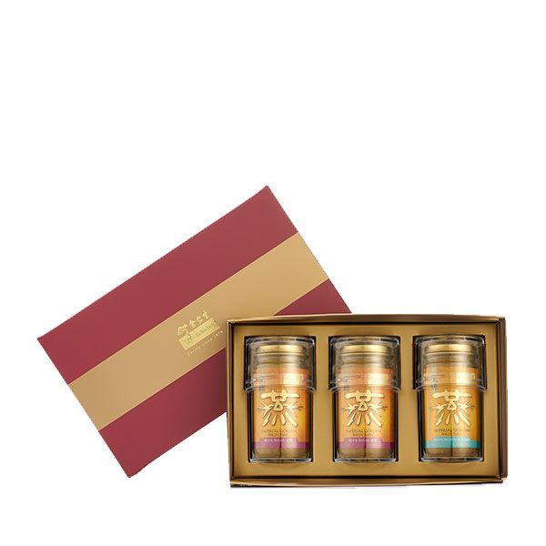 Imperial Concentrated Bird's Nest 150g Maroon Gift Set of 3 - 2 x Rock & 1 x Reduced Sugar