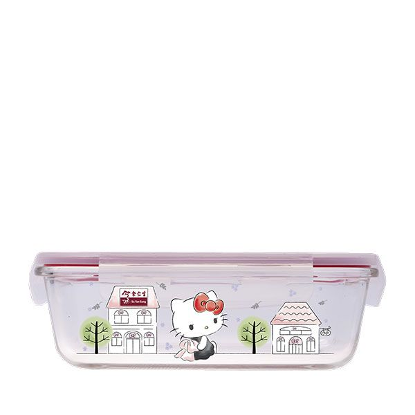 Hello Kitty Boroscilicate Glass Food Storage Container 1050ml