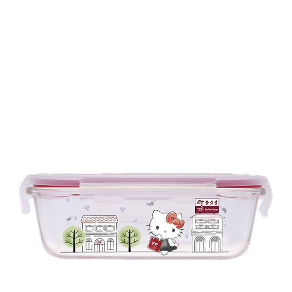 Hello Kitty Boroscilicate Glass Food Storage Container 640ml