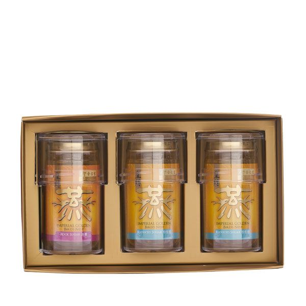 Imperial Golden Bird's Nest 3's - 1 x Reduced Sugar and 2 x Rock Sugar