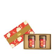 Festive Floral Superior Cave Nest American Ginseng (Reduced Sugar) Gift Box
