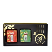 Mini Tuo Cha Gift Set of 2 - 1 x Raw, 1 x Glutinous